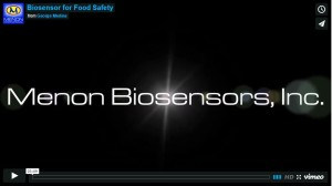 Menon Biosensors, Inc. - Biosensor for Food Safety